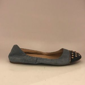 J. Crew Shoes - 💜5/$25 J.Crew denim ballet flats